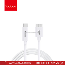 YOOBAO USB 3.1 cable Type-C male to USB-B 3.0 male cable Supper Speed 5GBps transmission rate