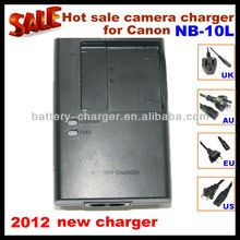 2012 hot sale universal camera charger CB-2LDC for Canon NB-10L