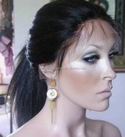 black ponytail wig