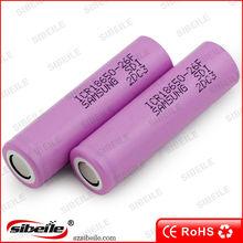 Samung 18650 2600mAh battery ICR18650-26F protected samsung