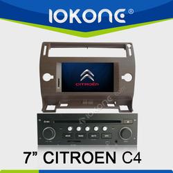 "2005-2009 factory 7"" HD Touch screen citroen c4 dvd player with TMC, camera, mic, dvb-t"