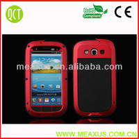 Free Shipping Metal Aluminum Water/Duty Proof Case Cover For Samsung Galaxy S3 i9300