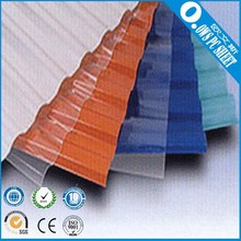 OWS Polycarbonate Transparent Corrugated Sheets For Sale With High Quality