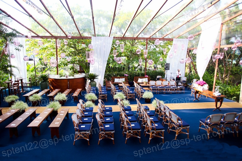 Buy Outdoor Wedding Decorations : Buy economical tent beautiful wedding decorations banquet