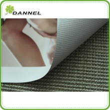 20*20 350gsm 12oz manufacture outdoor advertising grey back matte frontlit pull out banner roll