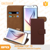 BRG Hot Selling Mobile Magnetic Phone Cover For Samsung S6 With ID Card Holder