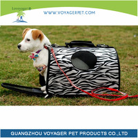 Lovoyager high quality folded nylon pet carrier