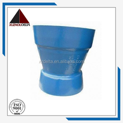 Ductile iron pipe fitting double socket taper reducer