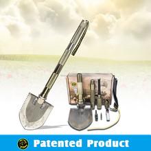 HIGH QUALITY OUTDOOR Survival Camping shovel /all steel shovels / shovel hoe hammer knife
