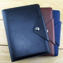 attractive purple pu leather notebook,custom notebook,