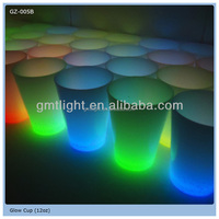 Bar favor colorful led light flashing 12OZ Sized Glow Cup