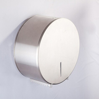 Big Roll Round Stainless Steel Tissue Box Waterproof toilet paper holders XR8219B