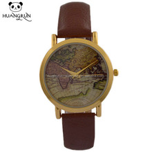 Huangrun leather watch leather wrist band men