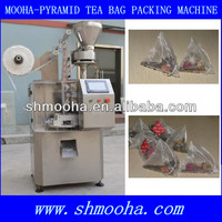 SHANGHAI MOOHA pyramid shape tea bag maker/pyramid shape tea bag packer