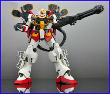 (WHOLESALE BANDAI ORIGINAL)MG 1/100 EW Arms Cusutom gundam robot gunpla japanese anime action figure supplier