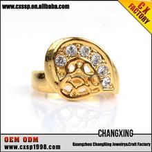Fashion wedding ring,eternity ring,gold ring