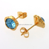 wholesale fashion $1.00 10kt gold plated stainless steel jewelry