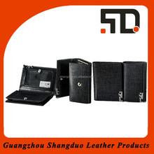 Businessman Popular Top Handmade Leather Card Holder Sets