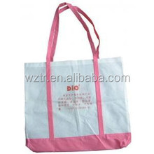 peaceful world customized tote bag for shopping/promotion