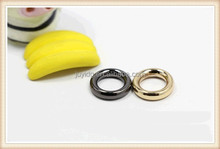 Zinc alloy round metal ring for bag accessory