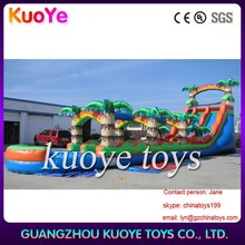 inflatable slip and slide,adult size inflatable water slide,inflatable double line water slide