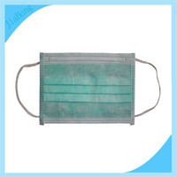 chinese 3ply disposable dental clear face mask