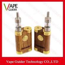 Chainsmoker Box Mod Dual Thread fit Atomizers Huge Vapor Innovative Design 510 Thread fit Any RDA RBA Atomizers