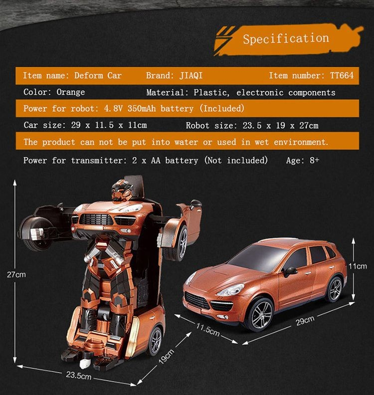 043664-2.4G Radio Control Deformation Robot - Car Simulation Model-2_02.jpg