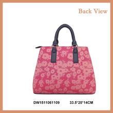 Wholesale Ladies Satchel Bag shoulder bags With Mixed Colors Handles