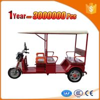 tyre powerful moto electric rickshaw with durable cargo box