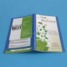 Catalogue printing high glossy paper for LED LIGHTS company A4 custom service