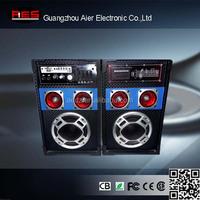 Aier 2014 audio trolley protable professional power subwoofer sound active speaker box