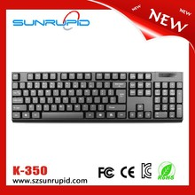 Ultra Slim 2.4G Wireless Compact Keyboard for Windows 8 / 7 / Vista / XP
