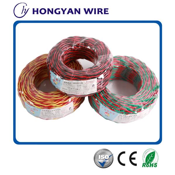 Bc cca ccs pvc flexible bande de c ble lectrique fil rouge et jaune croix fil - Cable electrique 4mm2 ...