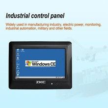 7 inch Win CE Industrial Touch Screen Panel PC with 3 USB Interface(ZKC7803)