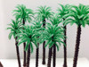 n scale model trains plastic model palm tree maker 7cm model coconut palm tree mode palm tree for train layout
