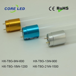 T8 LED Glass Tubes 1200mm 18W High PF China Factory AC85-265V