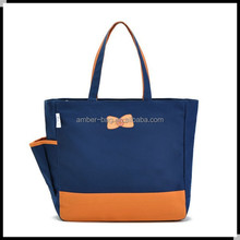 2015 launch polyester tote bag whosale in China factory (91051)