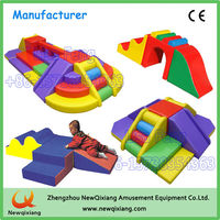 Indoor soft play equipment, small kids soft play area for indoor playground