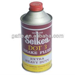 SUPER BRAKE OIL FLUID dot 3&dot4 in 350ml can package