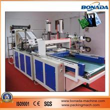 New! Plastic shopping bag making machine/HDPE Vest T-shirt shopping bag making machine/cold cutting hot sealing shopping machine