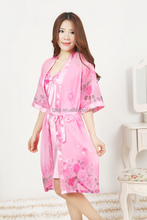 New europen style printed sleepwear sexy nighty dress for women!