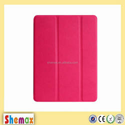 2015 Hot-selling transformer flip leather case for iPad mini 4