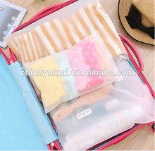 EVA plastic bag for clothes packing bag organizer insert