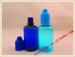 plastic liquid detergent plastic bottle for e-liquid dropper bottle wholesale