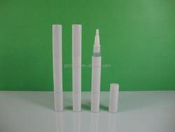 2ml white aluminum cosmetic pen