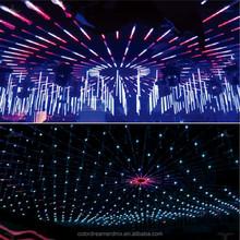 lower price DC15-24Vdmx flexibe 3d tube16pixel RGB DMX 3D LED tube DC24V save power 40%for night club,stage,TV show