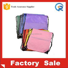 hot sale 190T recycle material with polyester drawstring bag /190T recycle polyester bag