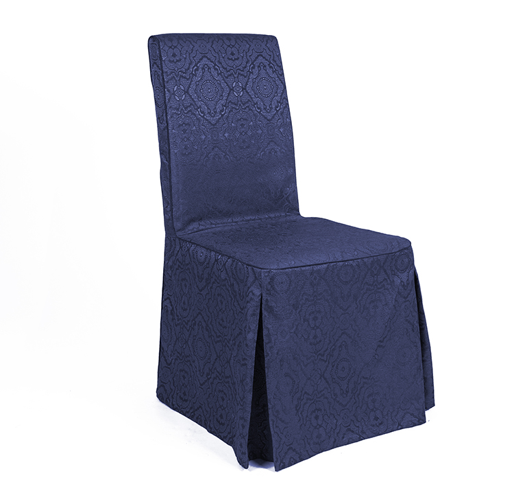 Factory Wholesale Luxury Fitted Ruffled Chair Cover