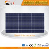 300w Poly Panel High Efficiency Cheap Price Per Watt Silicon Solar Panel